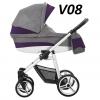 VULCANO 2020 ( gondola+spacerówka ) + dodatki BEBETTO