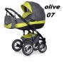 BRANO wózek wielofunkcyjny   2w1 ( gondola + spacerówka  ) RIKO  + megadodatki
