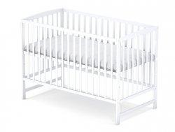łóżeczko kolor bialy  ARCO  120/60 cm