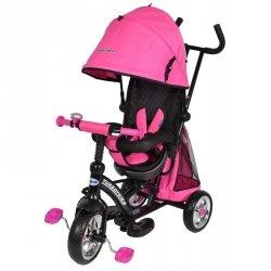 Rowerek trójkołowy TURBOTRIKE obracane siedzisko KOLOR  różowy  BABY MIX