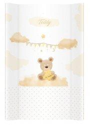 przewijak miękki Teddy beż 70 cm KLUPŚ
