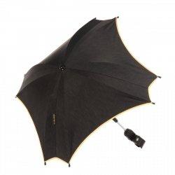 Orginalna parasolka JUNAMA  ze złotą lub miedzianą lamówką ESTILO