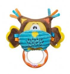 Zabawka multisensoryczna do wózka lub fotelika - SOWA  BABY ONO kod 1388
