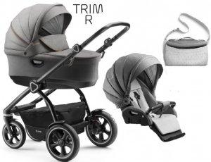 2018 TRIM R-linia wózek wielofunkcyjny ( gondola+ spacerówka ) + dodatki NOWOŚĆ jedo
