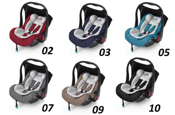 fotelik LEO  0-13 kg do wózków BABY DESIGN I ESPIRO