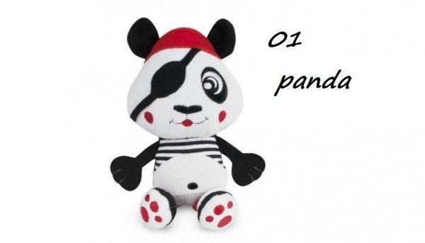 """Pluszowa zabawka z klipsem z kolekcji """"Piraci"""" panda , lew CANPOL"""