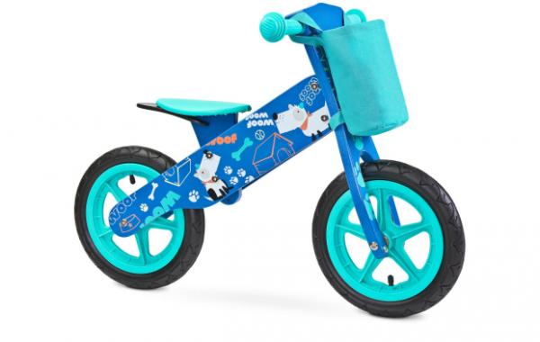 Rowerek biegowy  Zap TOYZ  Blue Piesek