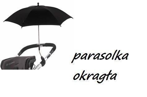 uniwersalna parasolka przeciwsłoneczna  do wózka