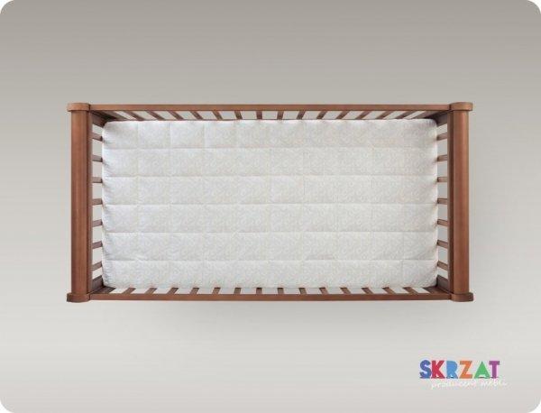 łózeczko GALA  ORZECH + szuflada   120/60 cm