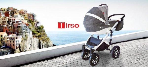 wózek wielofunkcyjny TIRSO  i TIRSO ECO 2018  (gondola+spacerówk + fotelik ) TUTEK