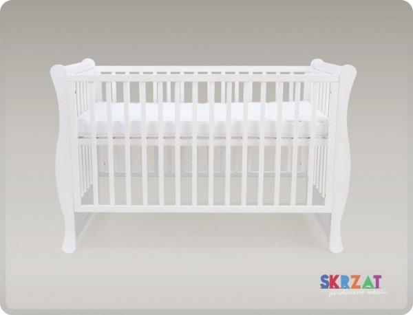 łóżeczko GALA BIALA   120/60 cm/ opcja tapczanik
