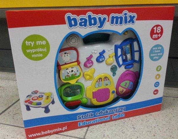 Stolik EDUKACYJNY Baby Mix