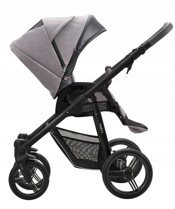 wózek spacerowy NICO NEW , kolory 2021 , koła żelowe , PRZEKŁADANE SIEDZISKO bebetto