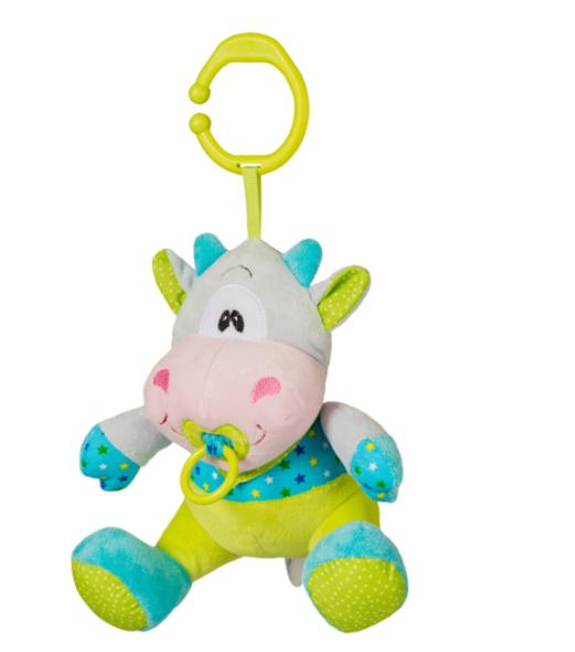 Zabawka dla dzieci z pozytywką KRÓWKA  Baby ono kod  1350