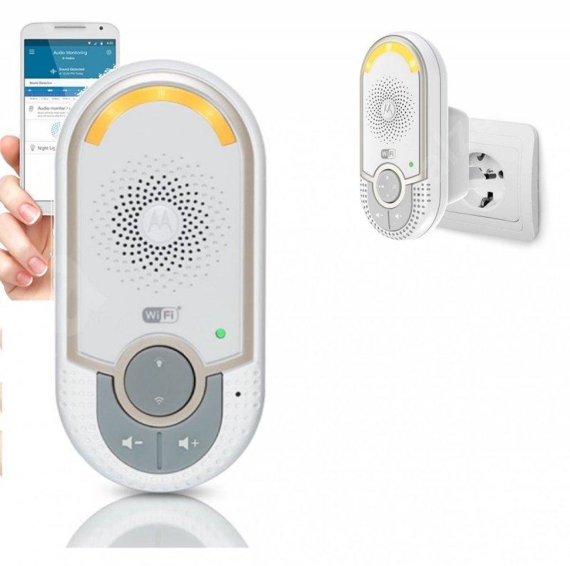 inteligentna elektroniczna niania  MBP162  CONNECT Wi-Fi Audio Monitor MOTOROLA