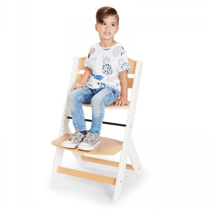 Krzesełko do karmienia 3w1 ENOCK drewniane ( od niemowlęcia do 10 lat !! ) Kinderkraft