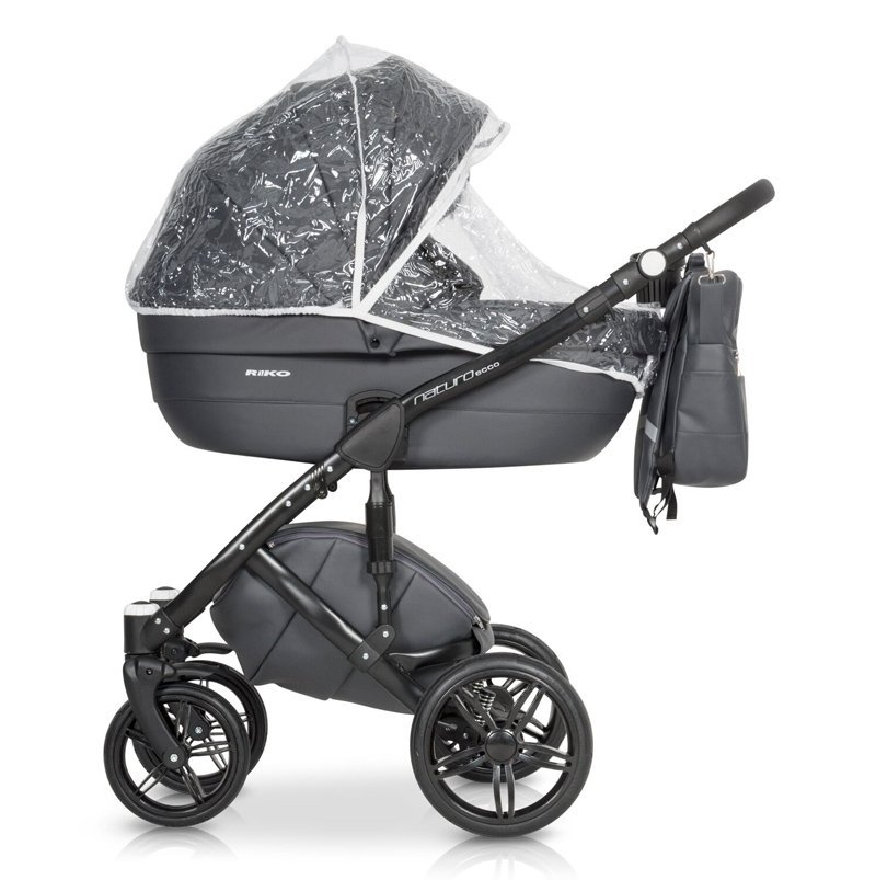 Nowoczesny wózek NATURO ECCO  ( gondola+spacerówka) firmy RIKO