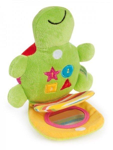 """Pluszowa zabawka dźwiękowa """"Kolorowy ocean - Żółw"""" CANPOL"""