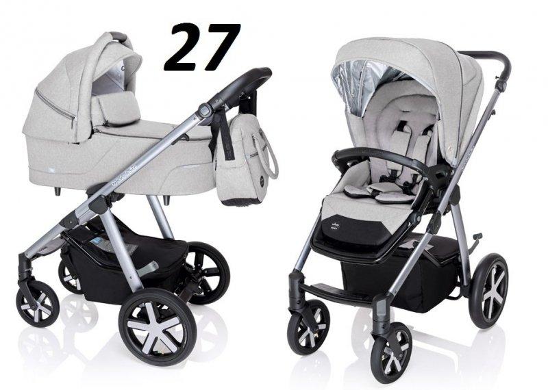 HUSKY 2020 wózek wielofunkcyjny ( gondola+spacerówka) baby design + WINTERPACK
