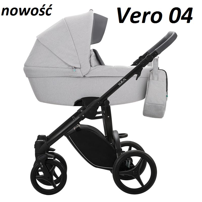 wózek LUCA VERO nowość zestaw 2w1 BEBETTO