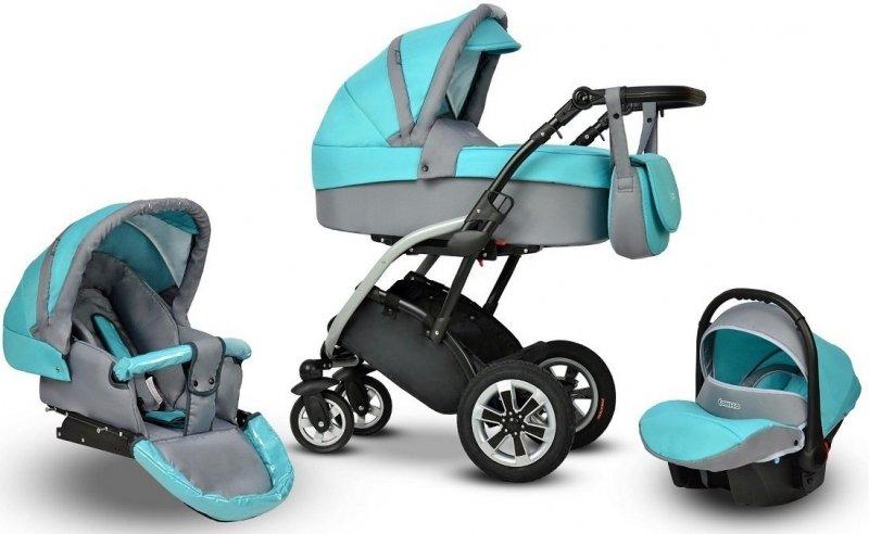 Elmo 2018 wózek wielofunkcyjny 3w1 CONECO
