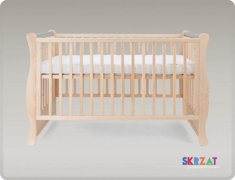 łóżeczko  GALA  SOSNA   120/60 cm