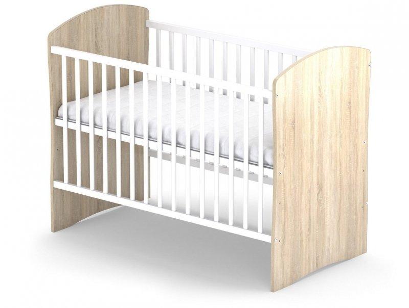 łóżeczko PANDA 120/60 cm kolor SONOMA