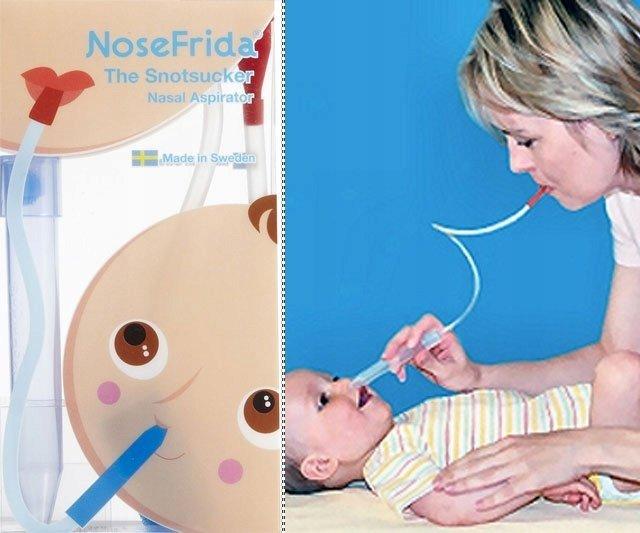 aspirator do noska NOSEFRIDA Orginał