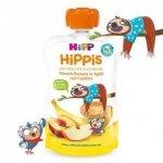Hipp Hippis Brzoskwinia Banan Jabłko Ciasteczka 1r 100g