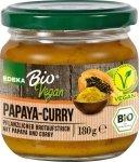 Edeka Bio Wegańska pasta pasztet Papaja-Curry DE