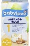 Babylove 1 mleko początkowe od urodzenia 600