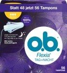 OB Flexia Normal 56 szt Tampony Niemcy Dzien Noc