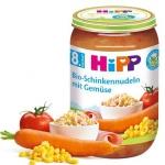 Hipp Bio obiadek Szynka z Warzywami i Makaronem 220g 8m