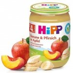 HIPP BIO Owoce Brzoskwinia Banan Jabłko 190g 4m