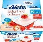 Alete Deser Jogurt z Truskawkami 4x100g 10m