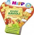 Hipp Bio obiadek na tacce Ravioli Sos Pomidorowo-Warzywny 12m 250g