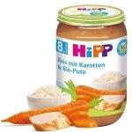 Hipp Bio obiadek Indyk Ryż Marchewka 8m 220g Bez Glutenu