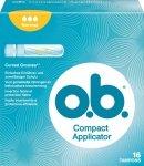 m-din OB Compact Normal Tampony z aplikatorem 16 szt