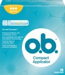 OB Compact Normal Tampony z aplikatorem 16 szt