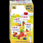 Hipp Bio MIX Musów owocowych 4 smaki + Łyżeczka 4m 4x90g