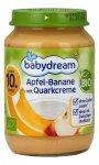 BabyDream Bio Jabłko Banan Twarożek 10m 190g