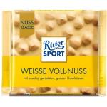 Ritter Sport Weisse Voll Nuss Biała Czekolada Orzechy 100