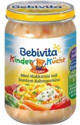 Bebivita Mini Makaron Kolorowe Warzywa 1r 250gr