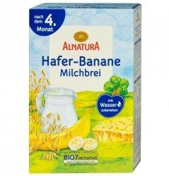 Alnatura Bio kaszka Owsiana Mleko Banan 4m 250g
