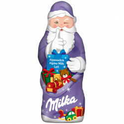 Milka Wigilijny Czekoladowy Mikołaj Święta Choinkę 50g