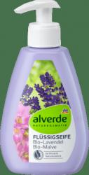 Alverde Naturalne Mydło W Płynie Lawenda Malwa Wegan