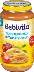Bebivita Makaron Szynka Sos Pomidorowy 12m 250g