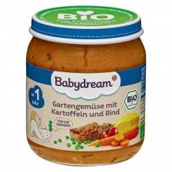 BabyDream Bio Ogrodowe Warzywa Wołowina 1r 250g