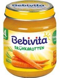 Bebivita Pierwsze Warzywo Młoda marchewka 4m 125g