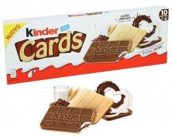 Ferrero Kinder Cards Ciasteczka Krem Mleczno Kakaowy